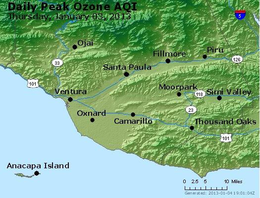 Peak Ozone (8-hour) - http://files.airnowtech.org/airnow/2013/20130103/peak_o3_ventura.jpg