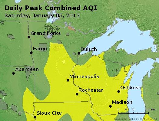 Peak AQI - http://files.airnowtech.org/airnow/2013/20130105/peak_aqi_mn_wi.jpg