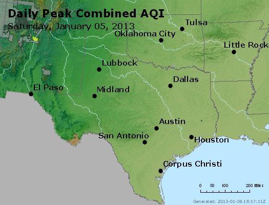 Peak AQI - http://files.airnowtech.org/airnow/2013/20130105/peak_aqi_tx_ok.jpg