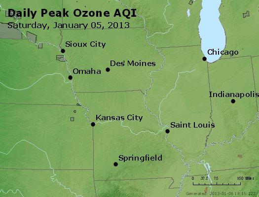 Peak Ozone (8-hour) - http://files.airnowtech.org/airnow/2013/20130105/peak_o3_ia_il_mo.jpg
