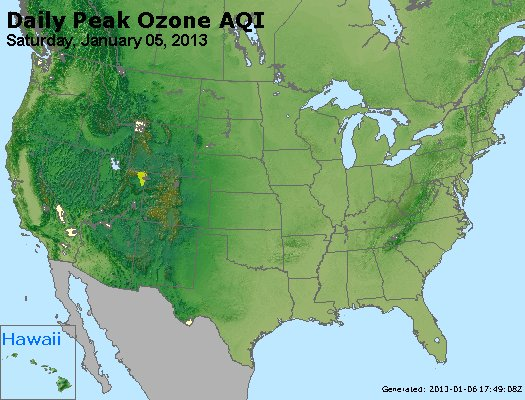 Peak Ozone (8-hour) - http://files.airnowtech.org/airnow/2013/20130105/peak_o3_usa.jpg