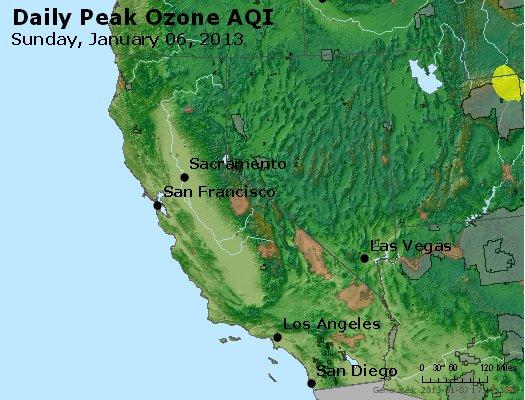 Peak Ozone (8-hour) - http://files.airnowtech.org/airnow/2013/20130106/peak_o3_ca_nv.jpg