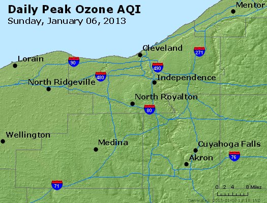 Peak Ozone (8-hour) - http://files.airnowtech.org/airnow/2013/20130106/peak_o3_cleveland_oh.jpg