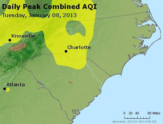 Peak AQI - http://files.airnowtech.org/airnow/2013/20130108/peak_aqi_nc_sc.jpg
