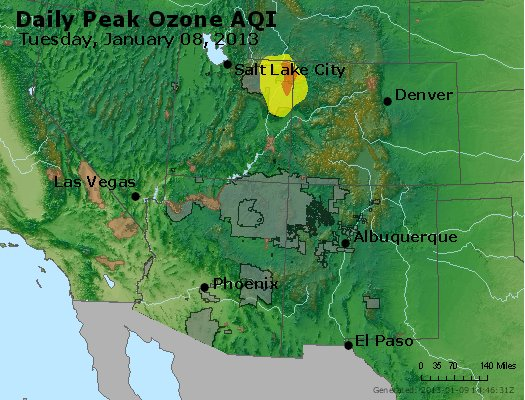 Peak Ozone (8-hour) - http://files.airnowtech.org/airnow/2013/20130108/peak_o3_co_ut_az_nm.jpg