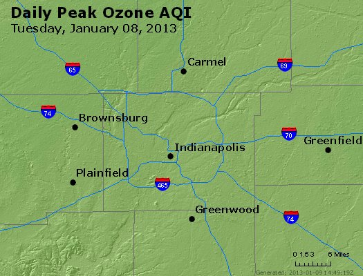 Peak Ozone (8-hour) - http://files.airnowtech.org/airnow/2013/20130108/peak_o3_indianapolis_in.jpg