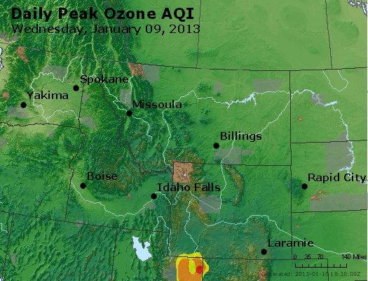 Peak Ozone (8-hour) - http://files.airnowtech.org/airnow/2013/20130109/peak_o3_mt_id_wy.jpg