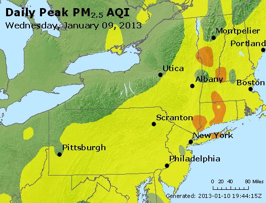 Peak Particles PM<sub>2.5</sub> (24-hour) - http://files.airnowtech.org/airnow/2013/20130109/peak_pm25_ny_pa_nj.jpg