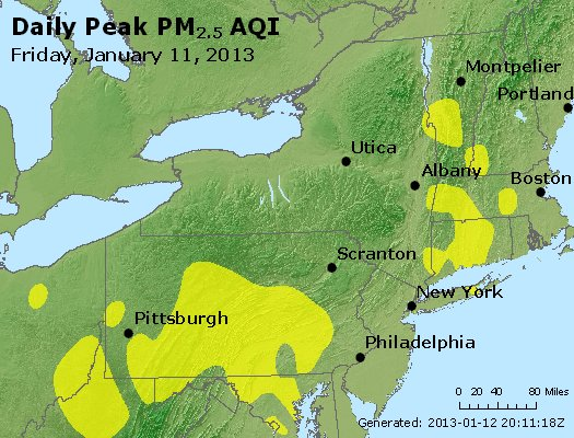 Peak Particles PM<sub>2.5</sub> (24-hour) - http://files.airnowtech.org/airnow/2013/20130111/peak_pm25_ny_pa_nj.jpg