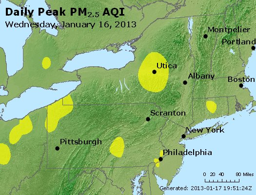 Peak Particles PM<sub>2.5</sub> (24-hour) - http://files.airnowtech.org/airnow/2013/20130116/peak_pm25_ny_pa_nj.jpg