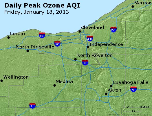 Peak Ozone (8-hour) - http://files.airnowtech.org/airnow/2013/20130118/peak_o3_cleveland_oh.jpg