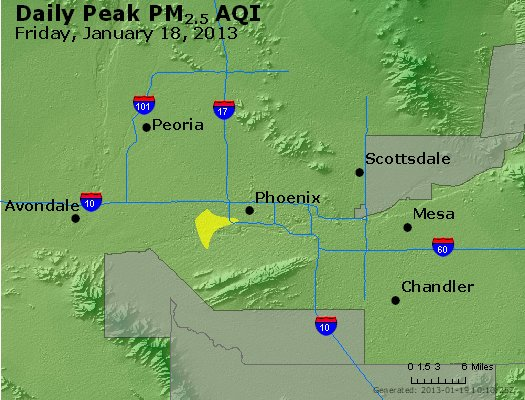 Peak Particles PM<sub>2.5</sub> (24-hour) - http://files.airnowtech.org/airnow/2013/20130118/peak_pm25_phoenix_az.jpg