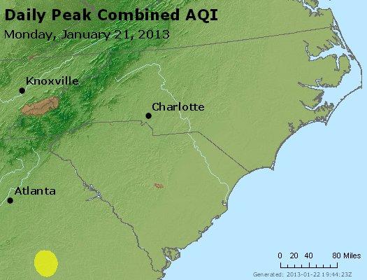 Peak AQI - http://files.airnowtech.org/airnow/2013/20130121/peak_aqi_nc_sc.jpg