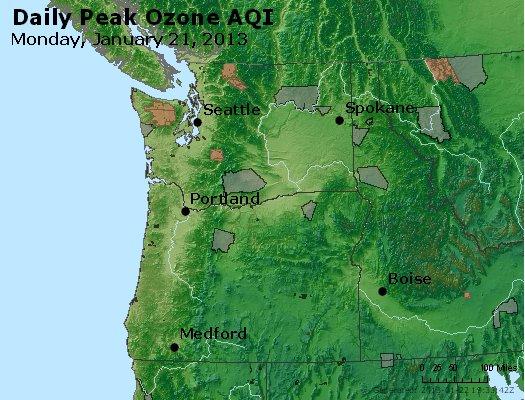 Peak Ozone (8-hour) - http://files.airnowtech.org/airnow/2013/20130121/peak_o3_wa_or.jpg