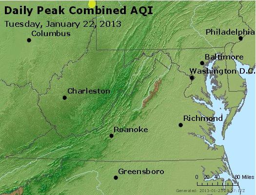 Peak AQI - http://files.airnowtech.org/airnow/2013/20130122/peak_aqi_va_wv_md_de_dc.jpg