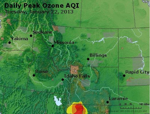 Peak Ozone (8-hour) - http://files.airnowtech.org/airnow/2013/20130122/peak_o3_mt_id_wy.jpg