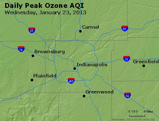 Peak Ozone (8-hour) - http://files.airnowtech.org/airnow/2013/20130123/peak_o3_indianapolis_in.jpg
