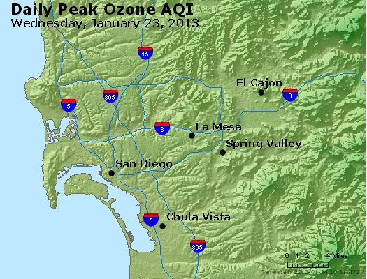 Peak Ozone (8-hour) - http://files.airnowtech.org/airnow/2013/20130123/peak_o3_sandiego_ca.jpg