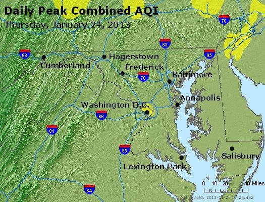Peak AQI - http://files.airnowtech.org/airnow/2013/20130124/peak_aqi_maryland.jpg