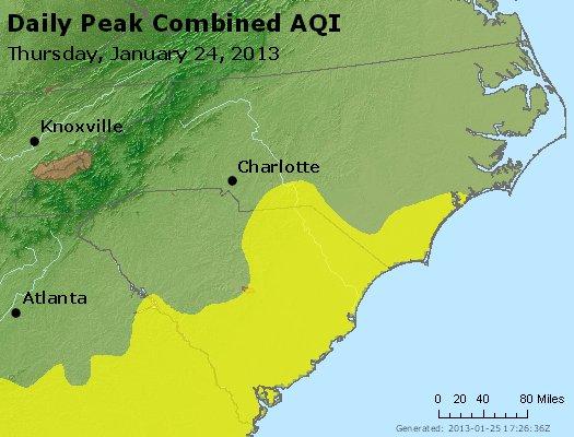 Peak AQI - http://files.airnowtech.org/airnow/2013/20130124/peak_aqi_nc_sc.jpg