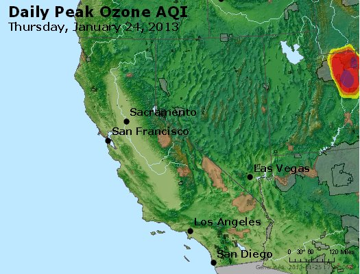 Peak Ozone (8-hour) - http://files.airnowtech.org/airnow/2013/20130124/peak_o3_ca_nv.jpg