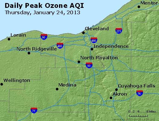 Peak Ozone (8-hour) - http://files.airnowtech.org/airnow/2013/20130124/peak_o3_cleveland_oh.jpg