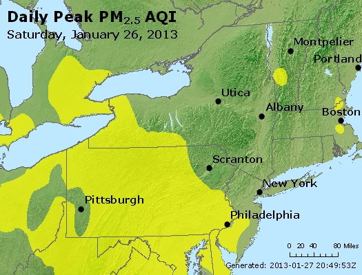 Peak Particles PM<sub>2.5</sub> (24-hour) - http://files.airnowtech.org/airnow/2013/20130126/peak_pm25_ny_pa_nj.jpg
