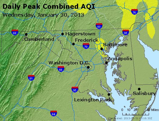Peak AQI - http://files.airnowtech.org/airnow/2013/20130130/peak_aqi_maryland.jpg