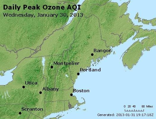 Peak Ozone (8-hour) - http://files.airnowtech.org/airnow/2013/20130130/peak_o3_vt_nh_ma_ct_ri_me.jpg