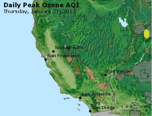Peak Ozone (8-hour) - http://files.airnowtech.org/airnow/2013/20130131/peak_o3_ca_nv.jpg