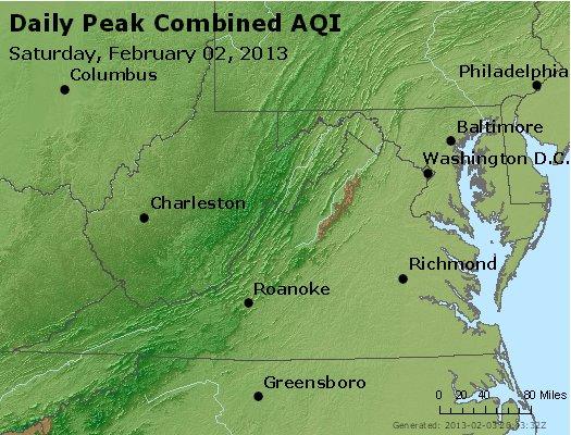 Peak AQI - http://files.airnowtech.org/airnow/2013/20130202/peak_aqi_va_wv_md_de_dc.jpg