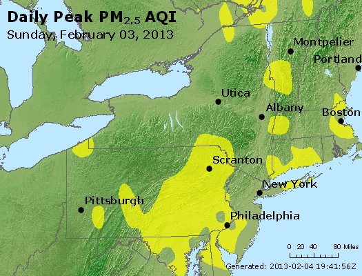 Peak Particles PM<sub>2.5</sub> (24-hour) - http://files.airnowtech.org/airnow/2013/20130203/peak_pm25_ny_pa_nj.jpg