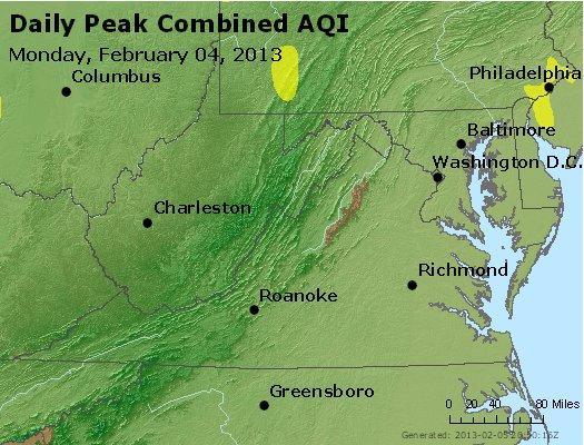 Peak AQI - http://files.airnowtech.org/airnow/2013/20130204/peak_aqi_va_wv_md_de_dc.jpg