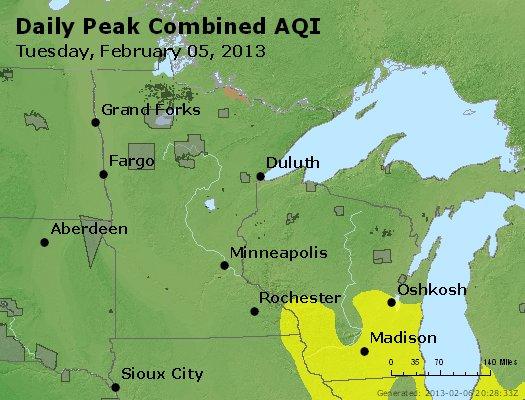 Peak AQI - http://files.airnowtech.org/airnow/2013/20130205/peak_aqi_mn_wi.jpg