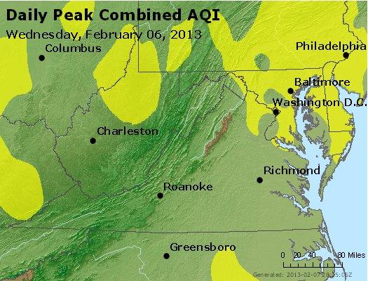Peak AQI - http://files.airnowtech.org/airnow/2013/20130206/peak_aqi_va_wv_md_de_dc.jpg