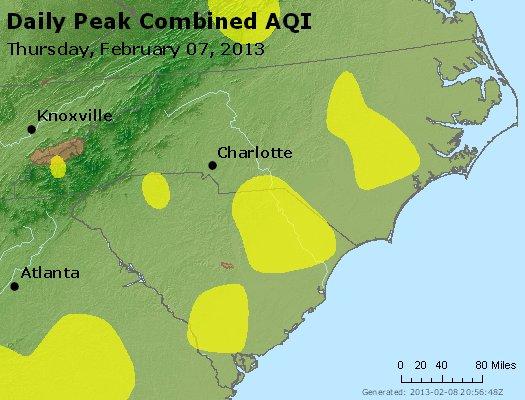 Peak AQI - http://files.airnowtech.org/airnow/2013/20130207/peak_aqi_nc_sc.jpg