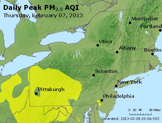 Peak Particles PM<sub>2.5</sub> (24-hour) - http://files.airnowtech.org/airnow/2013/20130207/peak_pm25_ny_pa_nj.jpg