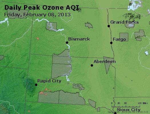 Peak Ozone (8-hour) - http://files.airnowtech.org/airnow/2013/20130208/peak_o3_nd_sd.jpg