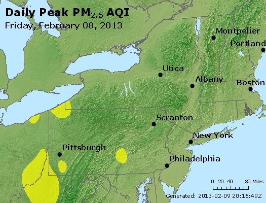 Peak Particles PM<sub>2.5</sub> (24-hour) - http://files.airnowtech.org/airnow/2013/20130208/peak_pm25_ny_pa_nj.jpg