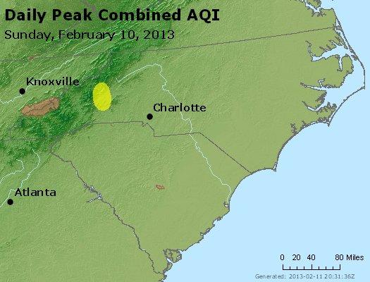 Peak AQI - http://files.airnowtech.org/airnow/2013/20130210/peak_aqi_nc_sc.jpg