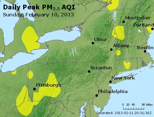 Peak Particles PM<sub>2.5</sub> (24-hour) - http://files.airnowtech.org/airnow/2013/20130210/peak_pm25_ny_pa_nj.jpg