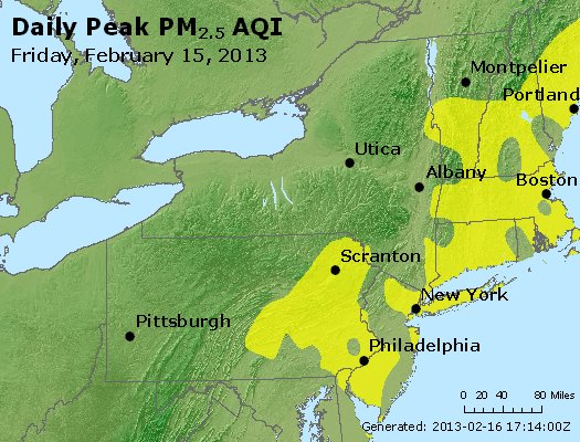 Peak Particles PM<sub>2.5</sub> (24-hour) - http://files.airnowtech.org/airnow/2013/20130215/peak_pm25_ny_pa_nj.jpg