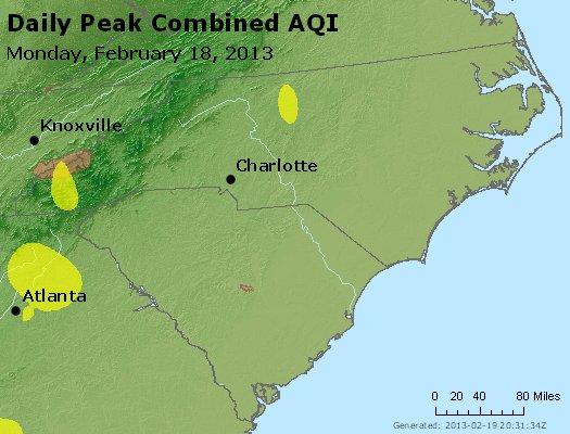 Peak AQI - http://files.airnowtech.org/airnow/2013/20130218/peak_aqi_nc_sc.jpg