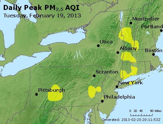 Peak Particles PM<sub>2.5</sub> (24-hour) - http://files.airnowtech.org/airnow/2013/20130219/peak_pm25_ny_pa_nj.jpg