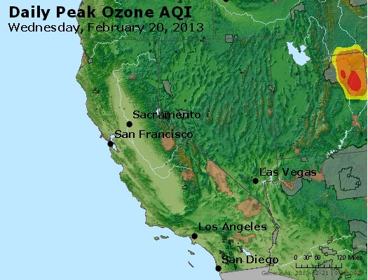 Peak Ozone (8-hour) - http://files.airnowtech.org/airnow/2013/20130220/peak_o3_ca_nv.jpg