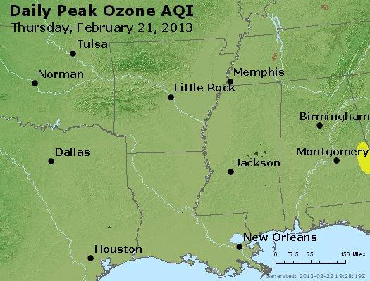 Peak Ozone (8-hour) - http://files.airnowtech.org/airnow/2013/20130221/peak_o3_ar_la_ms.jpg