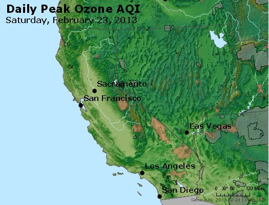 Peak Ozone (8-hour) - http://files.airnowtech.org/airnow/2013/20130223/peak_o3_ca_nv.jpg