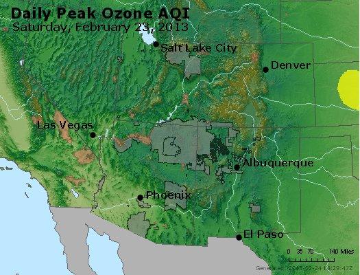 Peak Ozone (8-hour) - http://files.airnowtech.org/airnow/2013/20130223/peak_o3_co_ut_az_nm.jpg