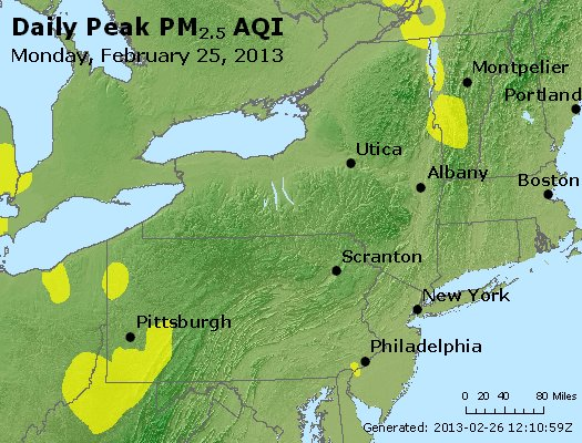 Peak Particles PM<sub>2.5</sub> (24-hour) - http://files.airnowtech.org/airnow/2013/20130225/peak_pm25_ny_pa_nj.jpg