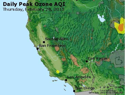 Peak Ozone (8-hour) - http://files.airnowtech.org/airnow/2013/20130228/peak_o3_ca_nv.jpg
